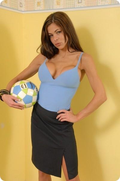 Футболистка (11 фото)