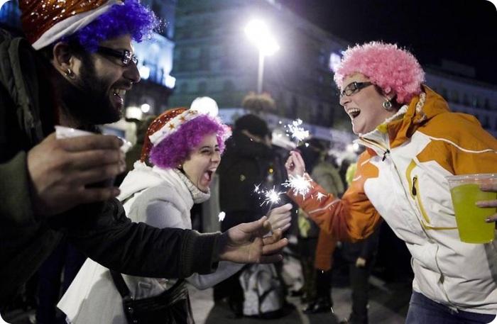 Празднование нового года по всему миру (62 фото)
