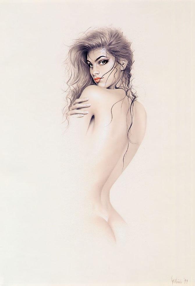 Рисунки сексуальных девушек