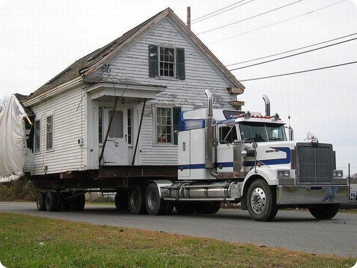 Переезд домов (25 фото)