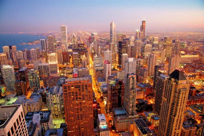 Города с самым большим количеством высотных зданий
