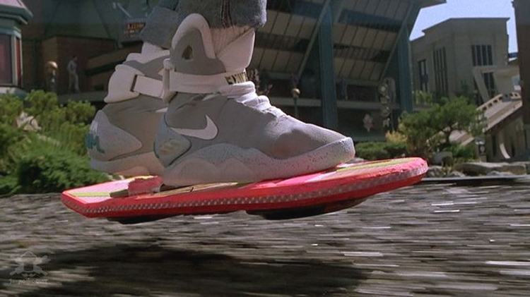 Летающий скейтборд