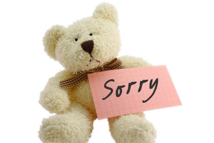 Вы не обязаны извиняться
