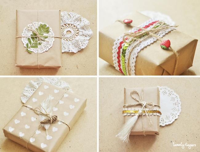Как быстро и красиво сделать подарок своими руками