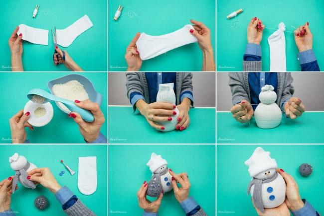 Как сделать елочную игрушку своими руками поэтапно