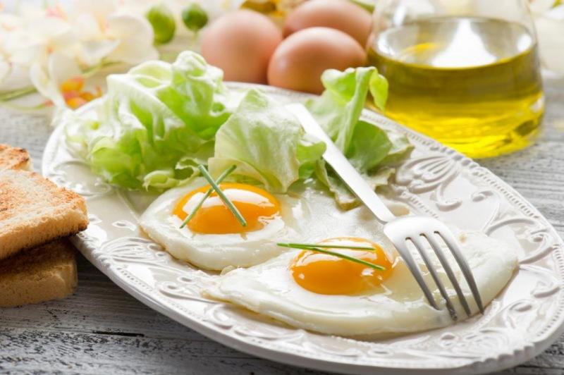 Аппетитные блюда из яиц