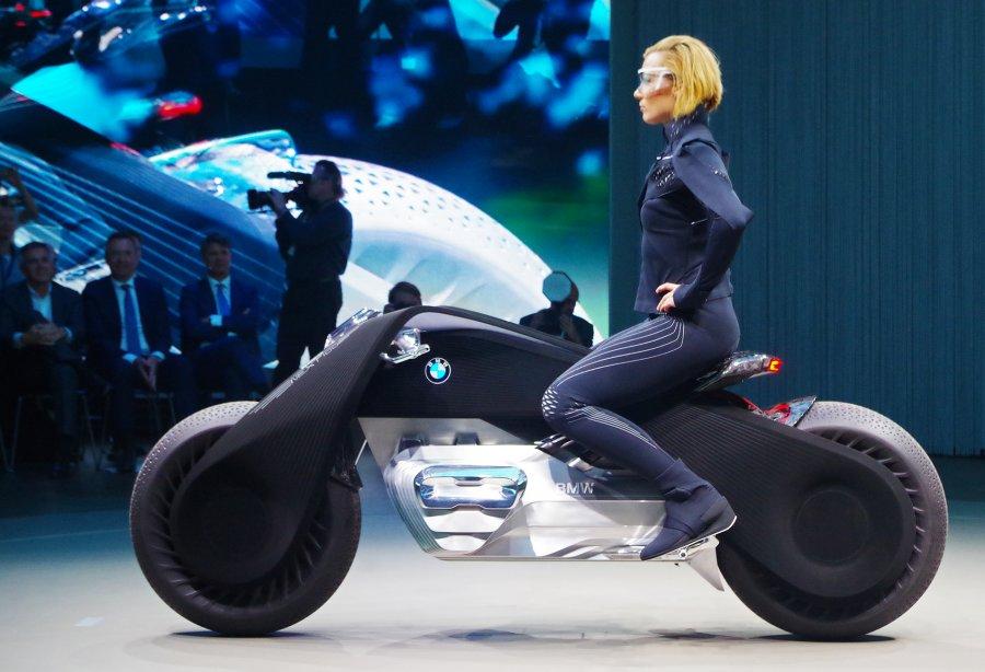 Мотоцикл будущего от BMW
