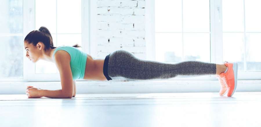 Что сделает с телом ежедневная планка