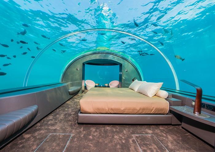 На Мальдивах открылся подводный отель