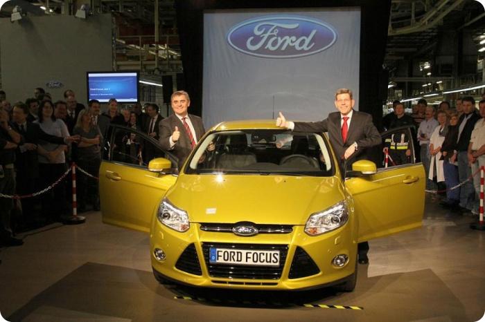 Стартовала сборка Ford Focus нового поколения