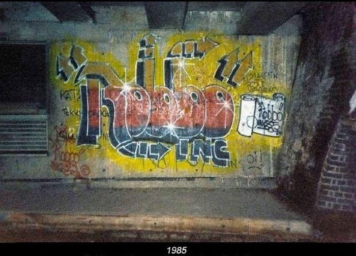 Битва художников граффити